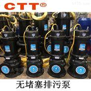 WQ潜水排污泵 离心无堵塞潜污泵固定式水泵