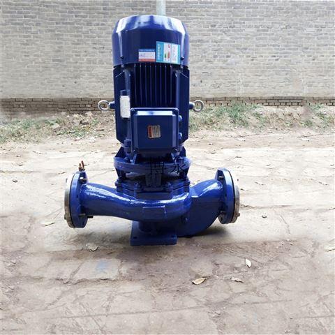 博泵ISG25-160型立式管道泵厂家铸铁清水泵
