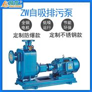 昂龙ZW排污泵 可定制氟橡胶机械密封污水泵